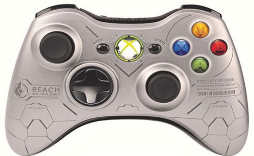 Halo: Reach Gets Its Own Xbox 360 Controller