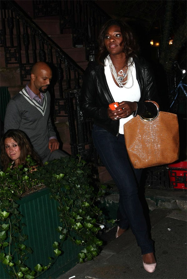 Serena Shocks City; Steps Out With Common Man