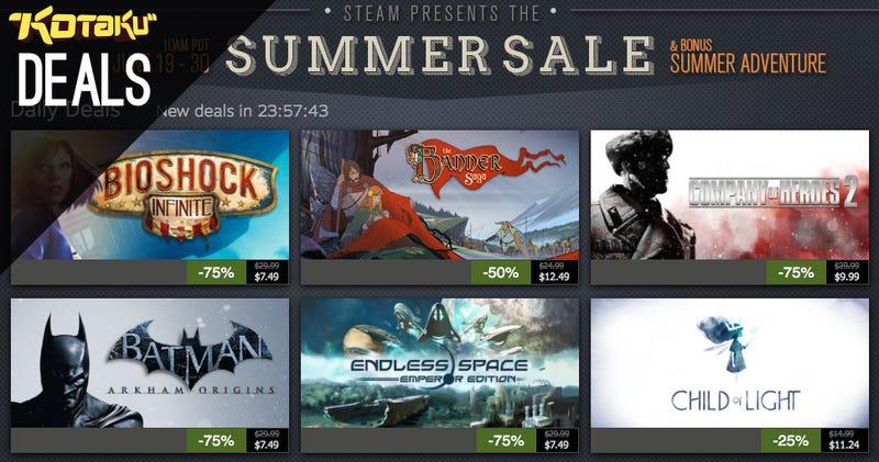 Steam Summer Sale Day 7, PSN Update, GOG Summer Sale, Logitech Bundle