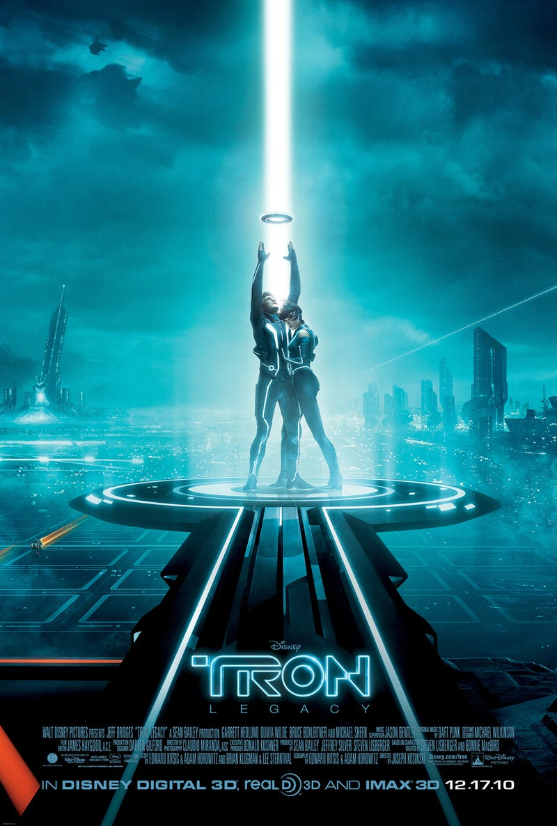 Your (Weekly) Endless Winter (Two-fer) Movie Guide to Movies You Should Watch Again: TRON and TRON: Legacy