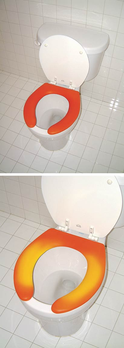 Hypercolor Heat-Changing Toilet Shows Who's Been Assing it Up