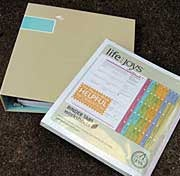 Just Organize Your Stuff personal filing system