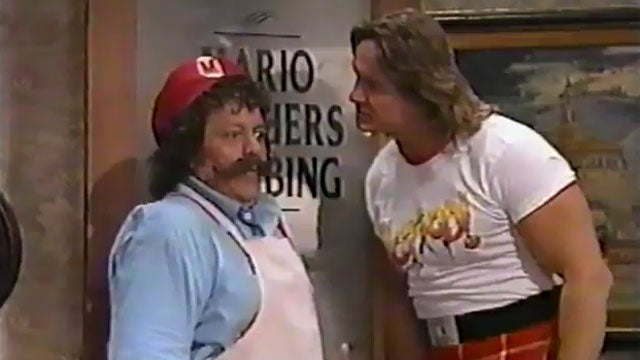 The Amazing Place Where Mario & 80's Pro Wrestling Came Together