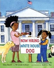 New Books Focus On Search For Presidential Puppy