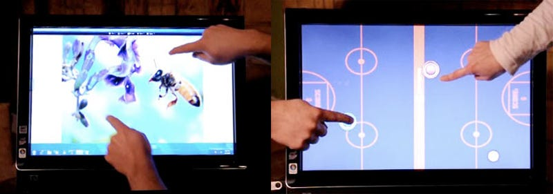 Windows 7 Touch and Multitouch Gesturing, Pen Controls and Writing Recognition