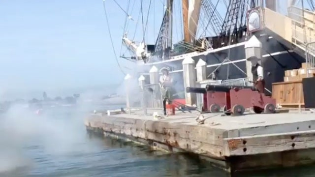 There's A Pirate Ship Firing Cannons At Comic-Con