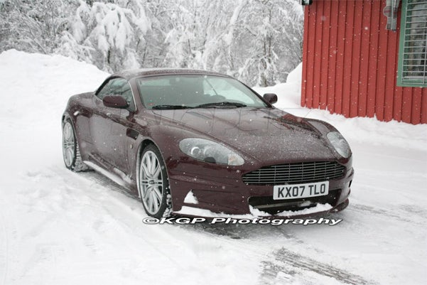 Aston Martin DBS Goes Volante!