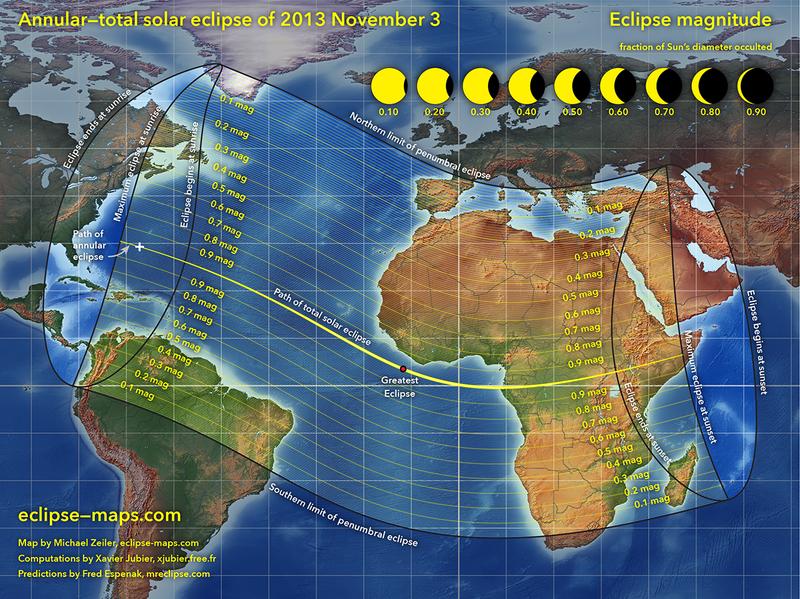 ¿Cómo y a qué hora se podrá ver el eclipse solar este domingo?