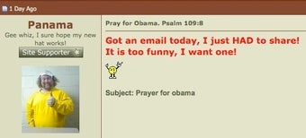 Christian Conservatives Praying for God to Kill Obama