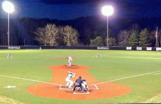 Here's A Baseball Field That Looks Like It Has A Big Penis On It