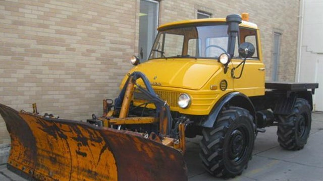 Near Perfect Ultra Low Mileage Unimog Is Simply Awesome