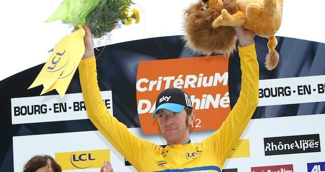 Tour De France Leader Bradley Wiggins Has Some Choice Words For Anyone Who Thinks He's Doping