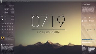 The Misty Mountains Desktop