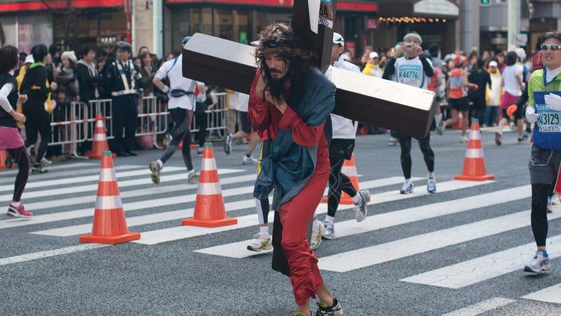 This Is a Marathon. A Cosplay Marathon.