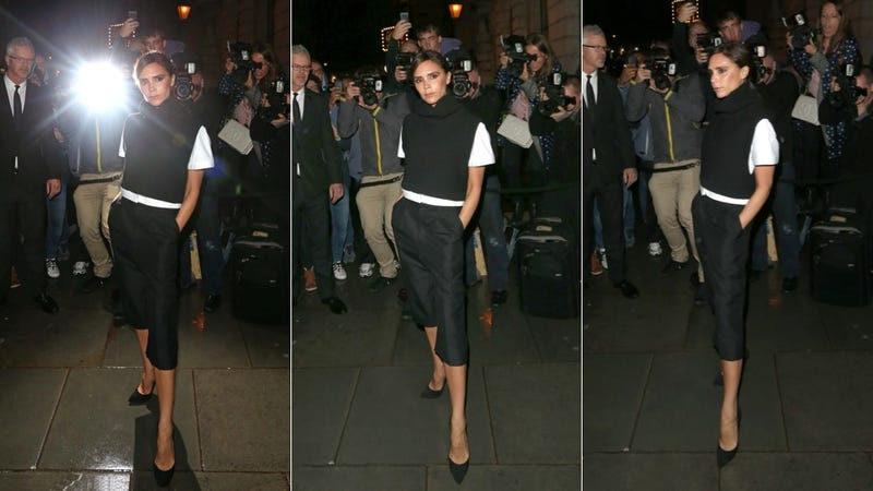 Victoria Beckham Strikes a Posh Pose