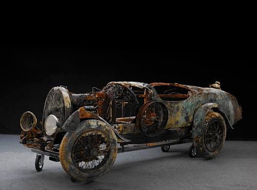 Bugatti Going To Auction After Spending 70 Years Under Water