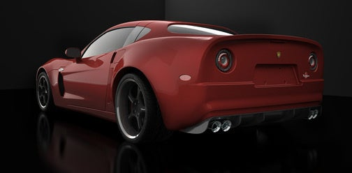 Corvette-Based SV 9 Competizione Wants Desperately To Be Italiani