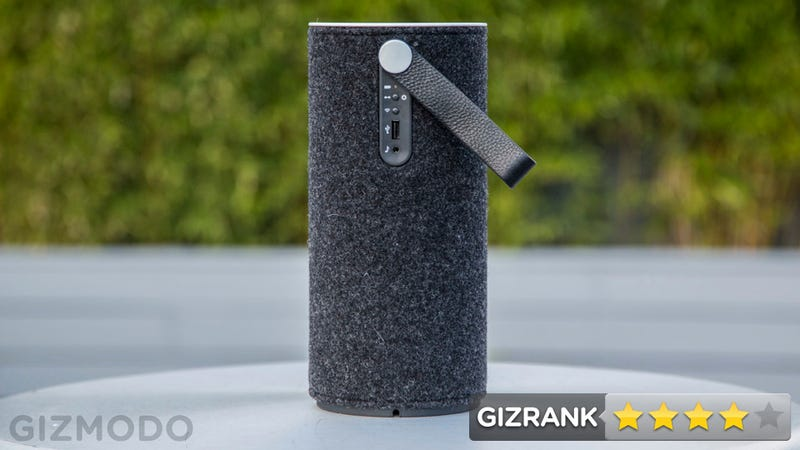 Libratone Zipp Review: A Sweet-Sounding, Great-Looking Airplay Speaker That's Easy to Use