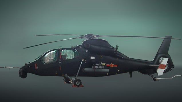 Take a Look at China's New Attack Helicopter