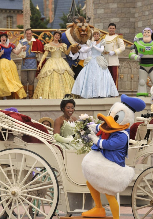 Cue The Singing & Dancing: Disney's Black Princess Arrives At Themepark