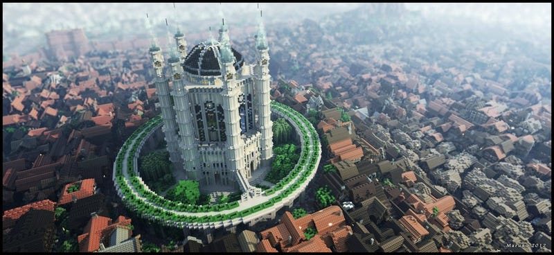 Game of Thrones King's Landing recreated with baffling precision in Minecraft