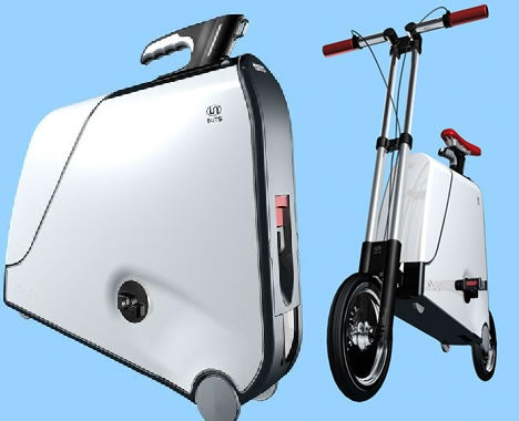 The Suitcase Bike: Oh God, They Actually Made It