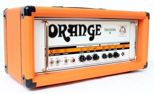 Thunder 30 Amplifier is Still Orange, Gets Louder