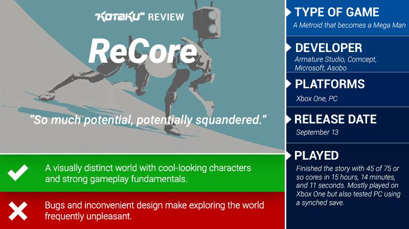 ReCore: The Kotaku Review