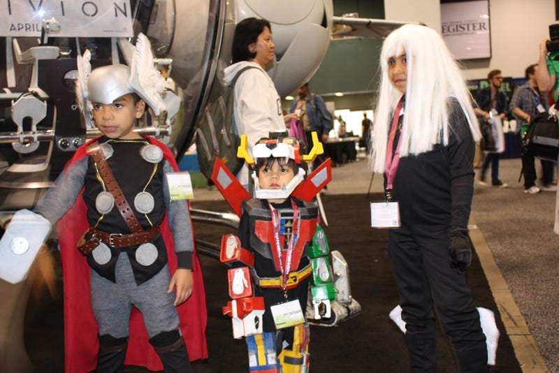 The Cutest Cosplay We Saw at Wondercon!