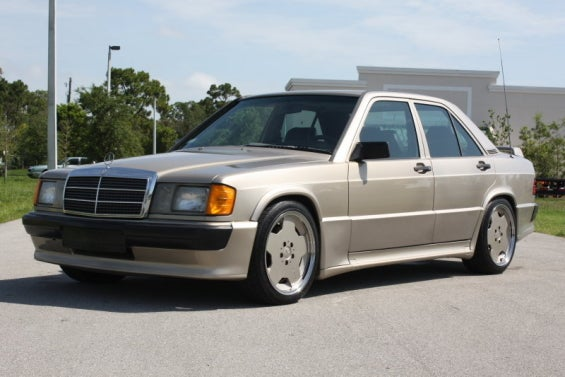 1986 Mercedes-Benz 190E 2.3 16-Valve Tuned By Cosworth