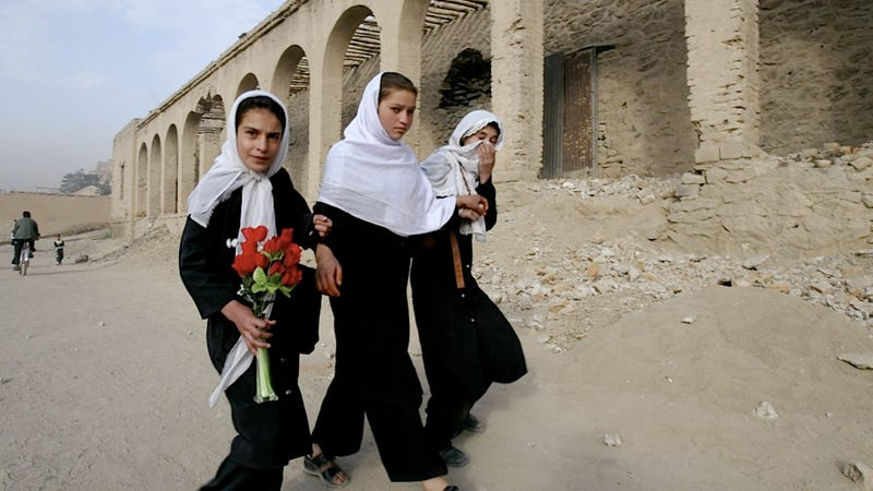 Taliban May Be Willing to Promote Women's Education as Part of Peace Talks