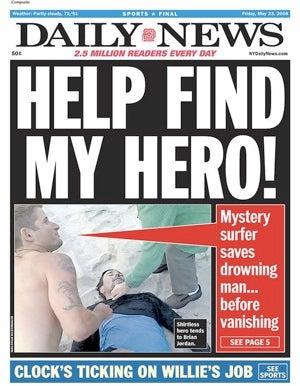 Mystery Surfer Hottie Hero Found!