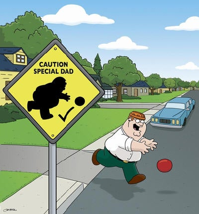 Family Guy Would Like an Emmy for Best Gratuitous Non Sequiturs