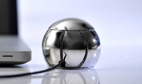 OreObject Thinks You Need A Ball-Shaped Steel Mouse