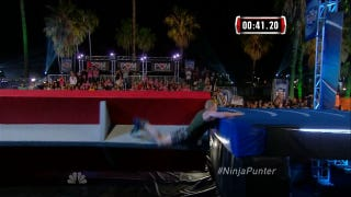 Seahawks Punter Competes On A<i>merican Ninja Warrior</i>, Loses