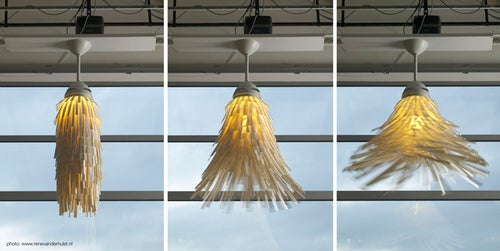 The Dervish Ceiling Fan Lamp Could Probably Wash Your Car