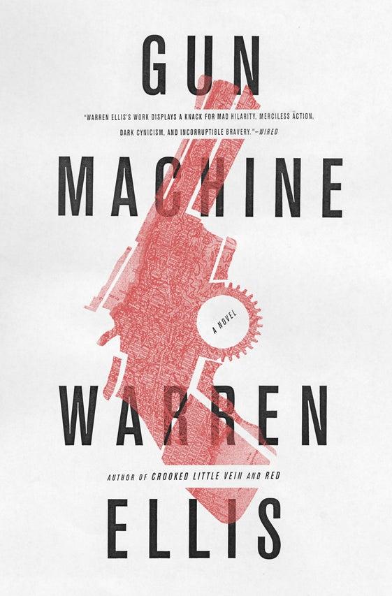Warren Ellis' Gun Machine Is a Blood-Soaked Hymn to New York Gun Fetishism