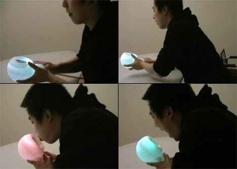 Sweety is Color-Changing, Squeezable Interactive Stress Gizmo