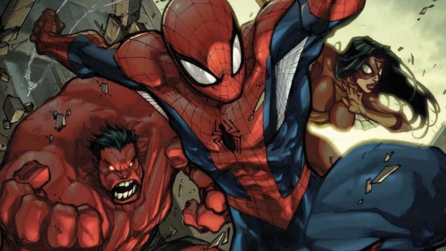 This week, Spider-Man hangs out with his avenging friends!