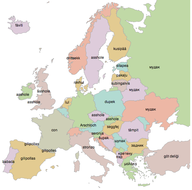 Create Your Own Linguistic Maps of Europe With This Cool Translator