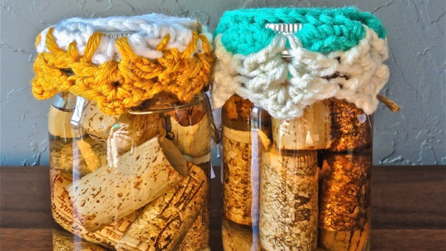 Recycle Wine Corks Into Ready-to-Use Fire Starters