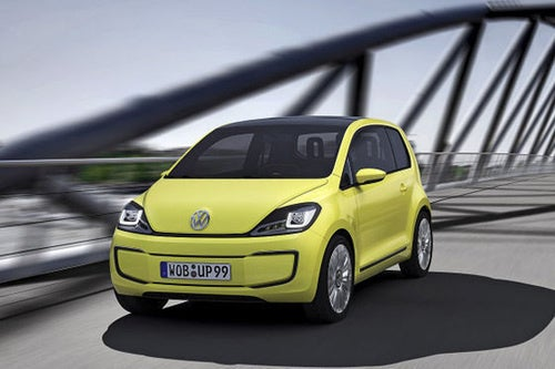 VW E-Up: Press Photos