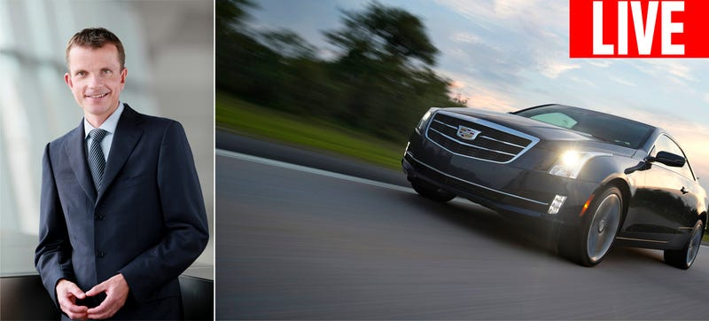 Ask Cadillac's Chief Marketing Officer Anything You Want