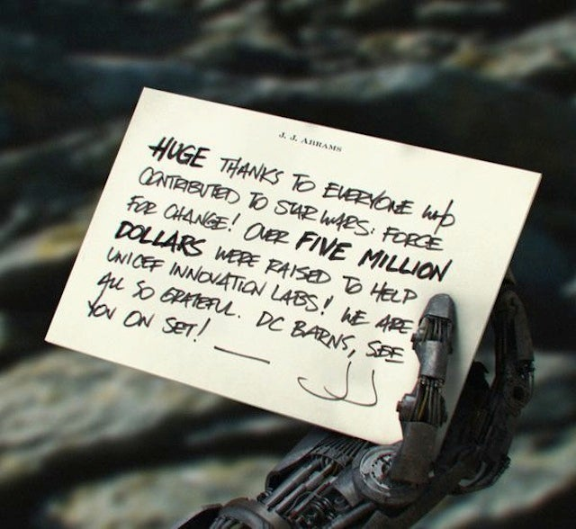 JJ Abrams' Newest Force For Change Tweet Hints At A Major Ep. 7 Spoiler