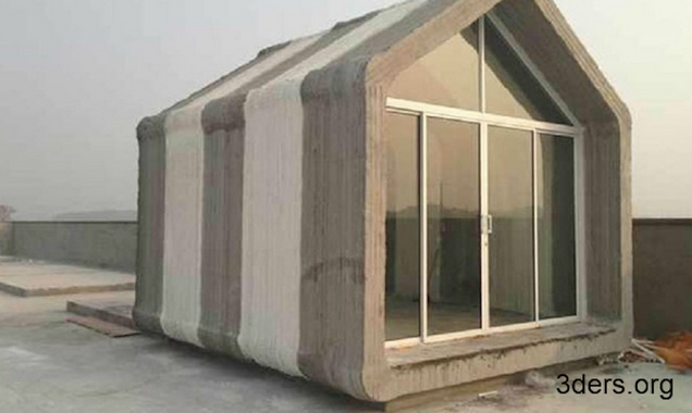 How a chinese company 3d printed ten houses in a single day for Companies that build houses