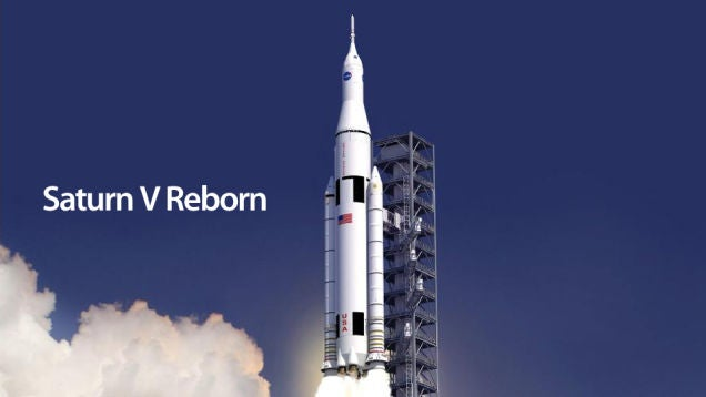 This Is NASA's New Deep Space Rocket