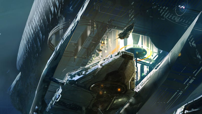 Book Cover Art That'll Make You Wish You Lived on a Space Station