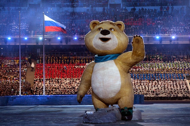 The Weirdest Moments from the Sochi Olympics Opening Ceremony