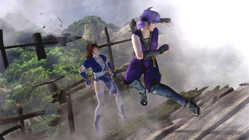 Let's Get Down and Dirty with New Dead or Alive 5 Screens