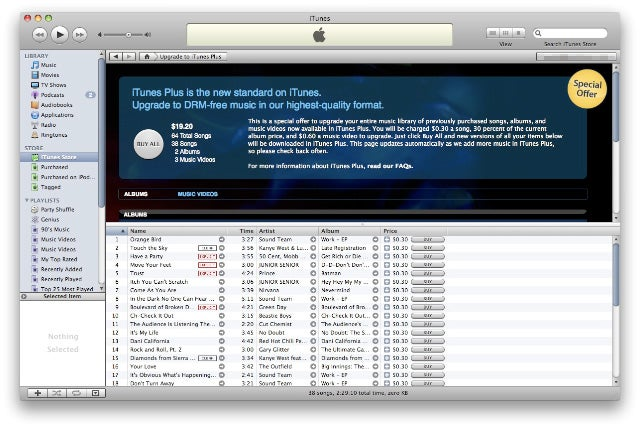 You Can Now Upgrade Your iTunes Library One Track or Album at a Time